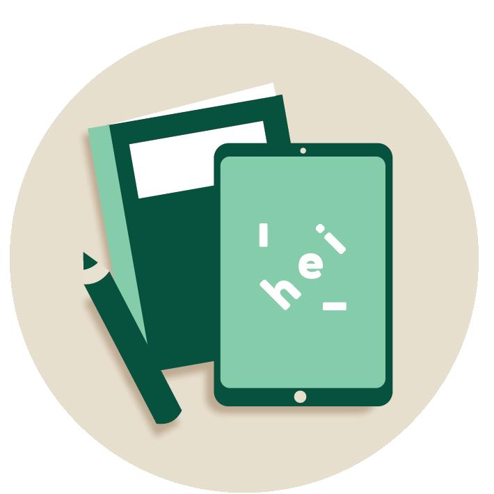 HEI Hub icons