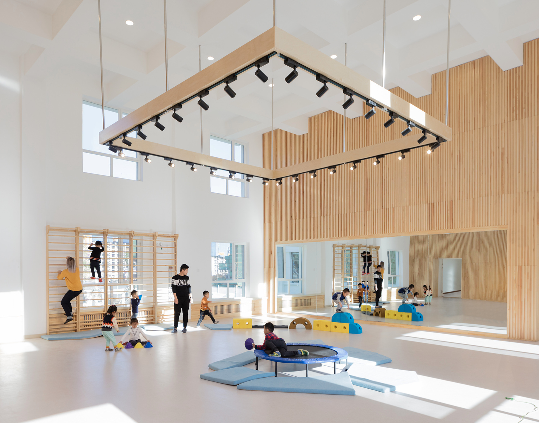 HEI Schools also uses Finnish designers and architects to build inspiring spaces.