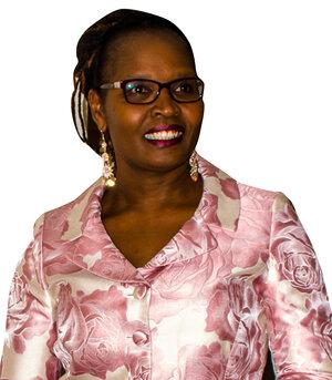 Ms. Prisca Muyodi, owner of Montessori House